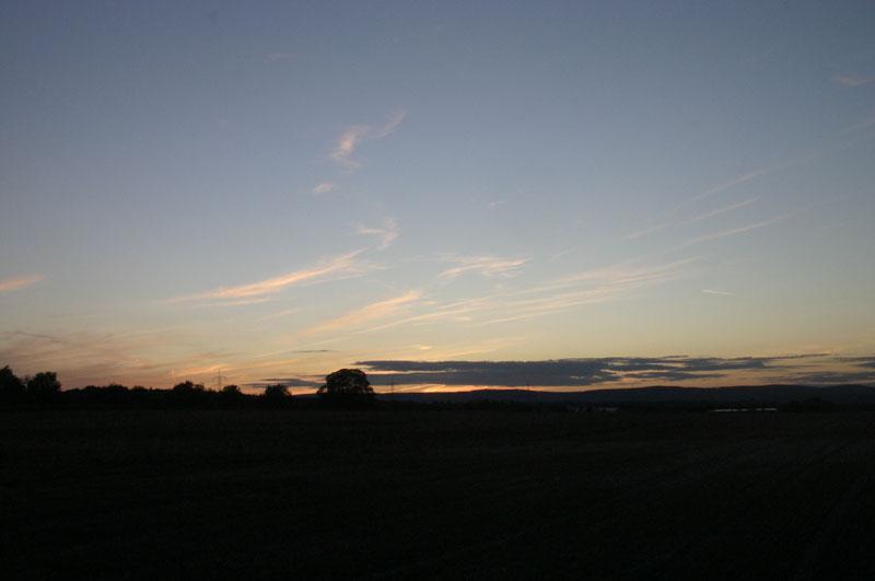 Gonsenheim 日落