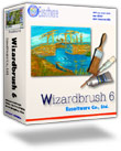Wizardbrush, a natural media painting software