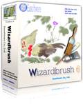 Wizardbrush, the natural media painting software